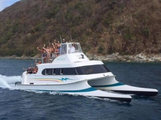 $10 OFF a BVI Trip on Bad Kitty!