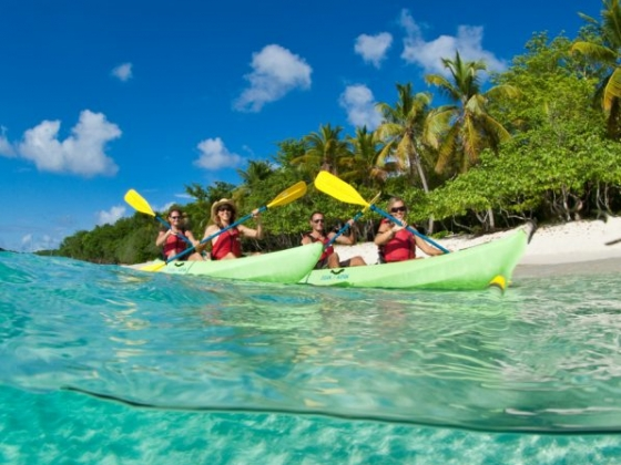Virgin Islands EcoTours Kayaking